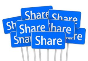 Add 100+ real shares to your social media post