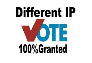 Give offer amazing 100 different IP votes your online contest voting entry polls for 5 for $3