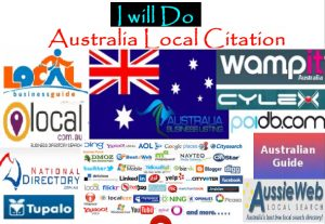I Will Create For You 60 Best Australia Local Citations