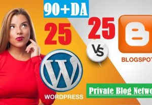 50 Solid contexual (Web2) PBN Blog POSTs Blogger and WordPress 90 High DA