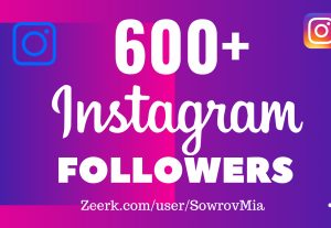 600+ Instagram Followers Get very Cheap Rate!