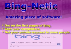 Get on the First page of Bing with this magnificent SEO software