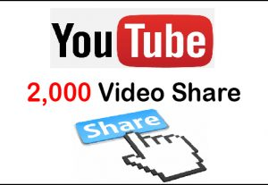 Get 2,000 Instant Youtube Video Share