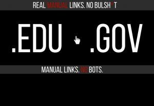 20 Powerful Rank Pushing EDU and GOV Backlinks