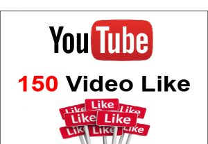 Youtube Lifetime guranteed 150+ Video Like