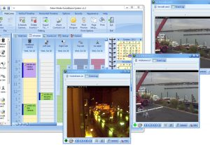 Video Surveillance Software: Zebra-Media Surveillance System
