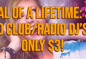 Submit 1 song to 50 Club DJ/Radio for $3