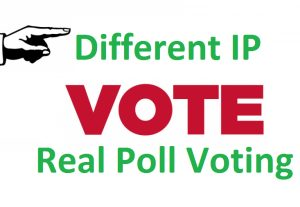 Only Different IP Vote for You