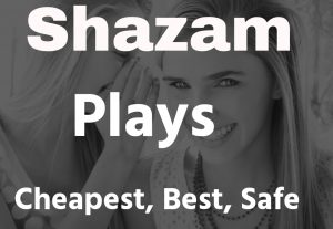 Shazam stream listener cheapest best quality services