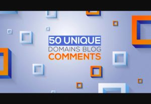 Create 50 Unique Domains Manual Blog Comments Backlinks Da,Pa,