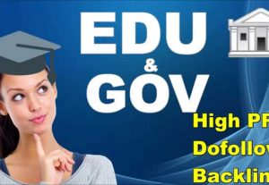 Build 20+ US Based EDU. GOV Authority Backlinks