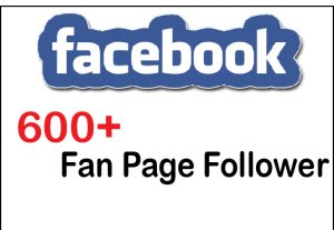 Get Instant 600+ Facebook Fan Page Follower For 5$,Life Time Guranteed