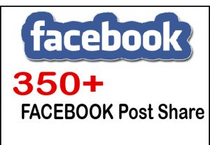 Get 349+ Facebook Post Share For 5$,Life Time Guranteed Service
