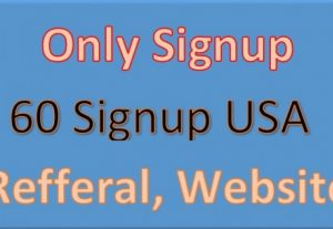 60 SignUp with email confirmation Fast Delivery
