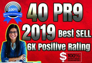 Best Sell-2019- I will manually do 40 PR9 Safe SEO High Pr Backlinks 2019 Best Results for $10