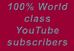 200 YouTube subscribers refill guarantee