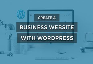 I will create a business website, WordPress business website