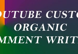 100 custom YouTube comments writing plus likes
