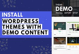 I will Install WordPress Theme and Setup Theme Demo