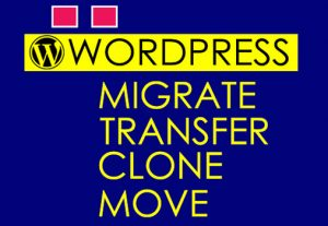 I will migrate, move, transfer WordPress website