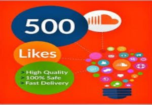 I will give you 500+ soundcloud like non drop high quality and super fast delivery