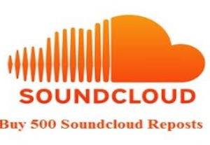 I will give you 500+ soundcloud repost non drop high quality and super fast delivery