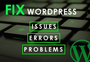 I will fix WordPress Issues, fix WordPress errors, fix WordPress Problems