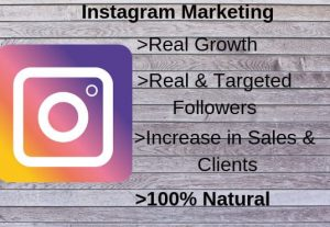 I will grow your Instagram account organically