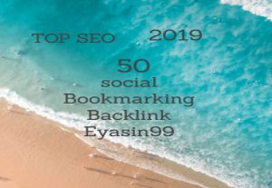 Create a manually 50 PR10 top Social Bookmarking Backlinks for $3