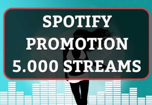 SUPER FAST- 5.000 HQ Spotify Streams / Plays With Real Users and Lifetime Guaranteed