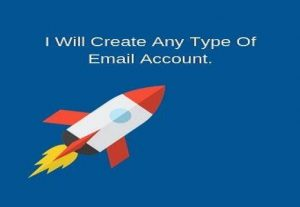 I Will Create New Yahoo  or  Gmail  Account