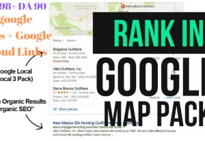 Google sites PBN to boost  GMB rankings