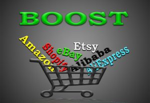 promote any Amazon, eBay, Etsy, Alibaba, AliExpress or Shopify store