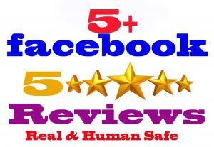 I will Give you 5 Facebook five star rating and review [Real & Human safe]