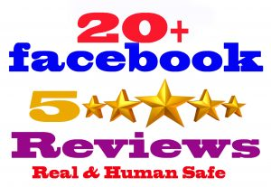 I will Give you 20 Facebook five star rating and review [Real & Human safe]