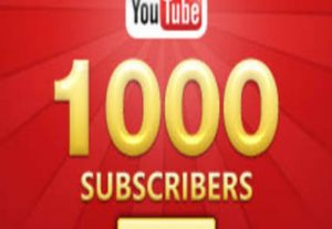 I will Give you 1000+ YouTube Subscribers. Non-Drop Guaranteed.