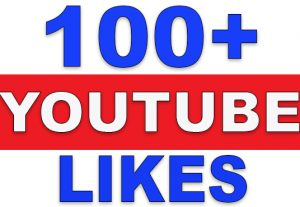 100+ YouTube Likes | NoN-Drop | Fast Delivery