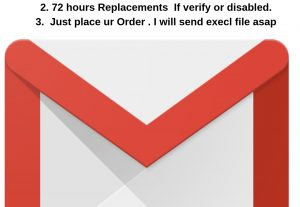 Gmail 6 Month + old Phone verified 25 accounts
