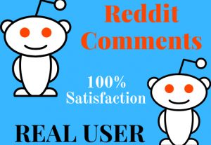 Get Instant Reddit 20 Comment by Real User
