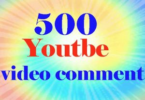 Guaranteed 500 Custom Comments Via Active User Super Fast Non Drop