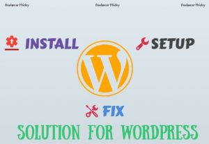 I will install WordPress, setup WordPress For $10