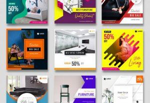 Social Media Post Design Templates Freelance Jobs Zeerk