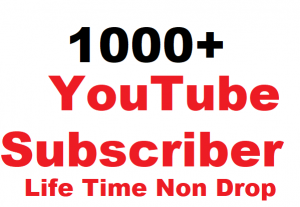 1000+ YouTube Subscriber Non Drop Give You Super Fast