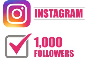 1000 Instagram Followers Give You