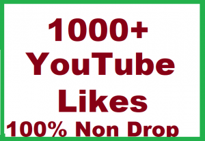 1000+ YouTube Video Likes Give You