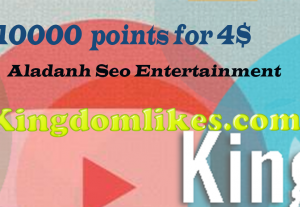 10000 kingdomlikes.com points for 5$