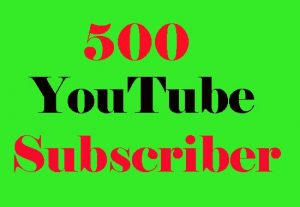 Get 500+ High Quality YouTube Sub For Promotion