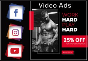 I will design creative short video ads for your social media