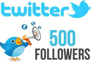 I Will Give  500 Real & Active Twitter Followers |  Non-Drop | Fast Delivery