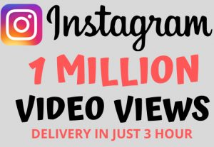 I Will Give You 100,000 Instagram Views | 100% Real and NoN-Drop